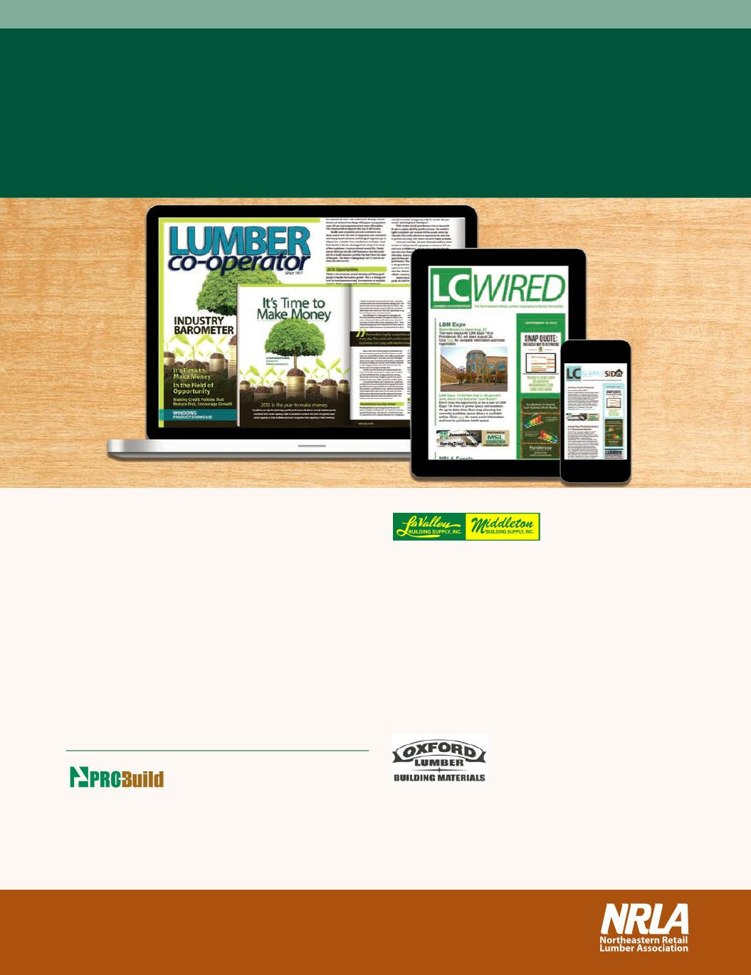Lumber co-operator: Decking Special Issue 2015