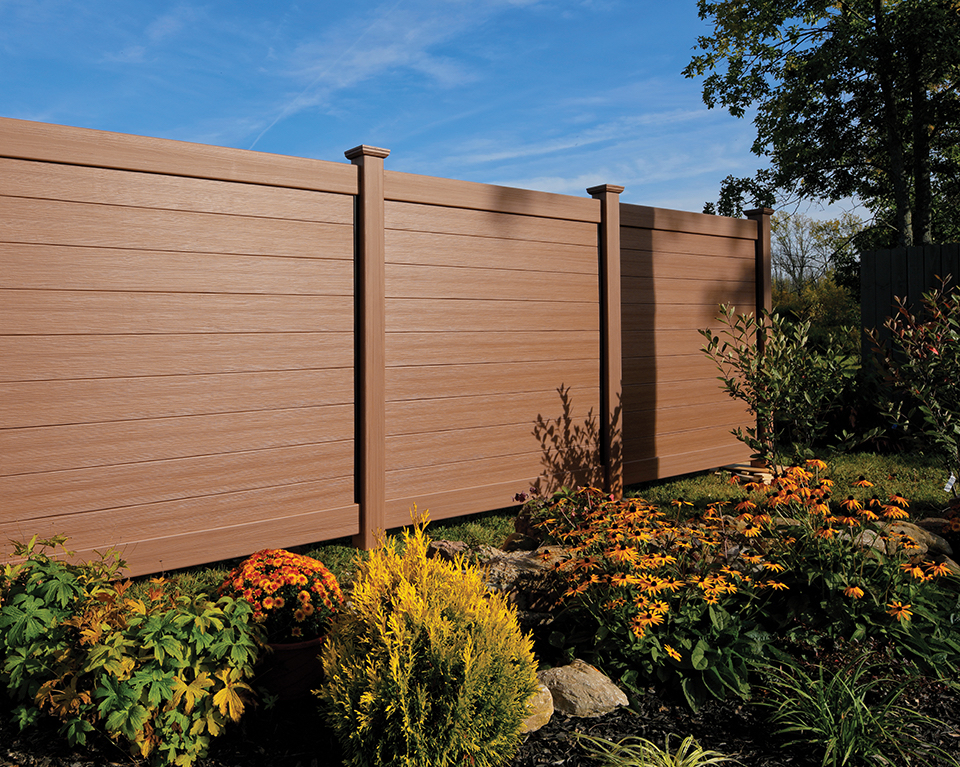 Certainteed Debuts New Bufftech 174 Brookline Vinyl Fence At
