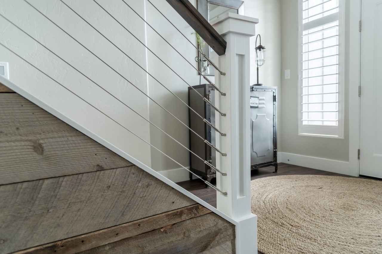 Creating The Wow Factor With LJ Smith Stair Systems