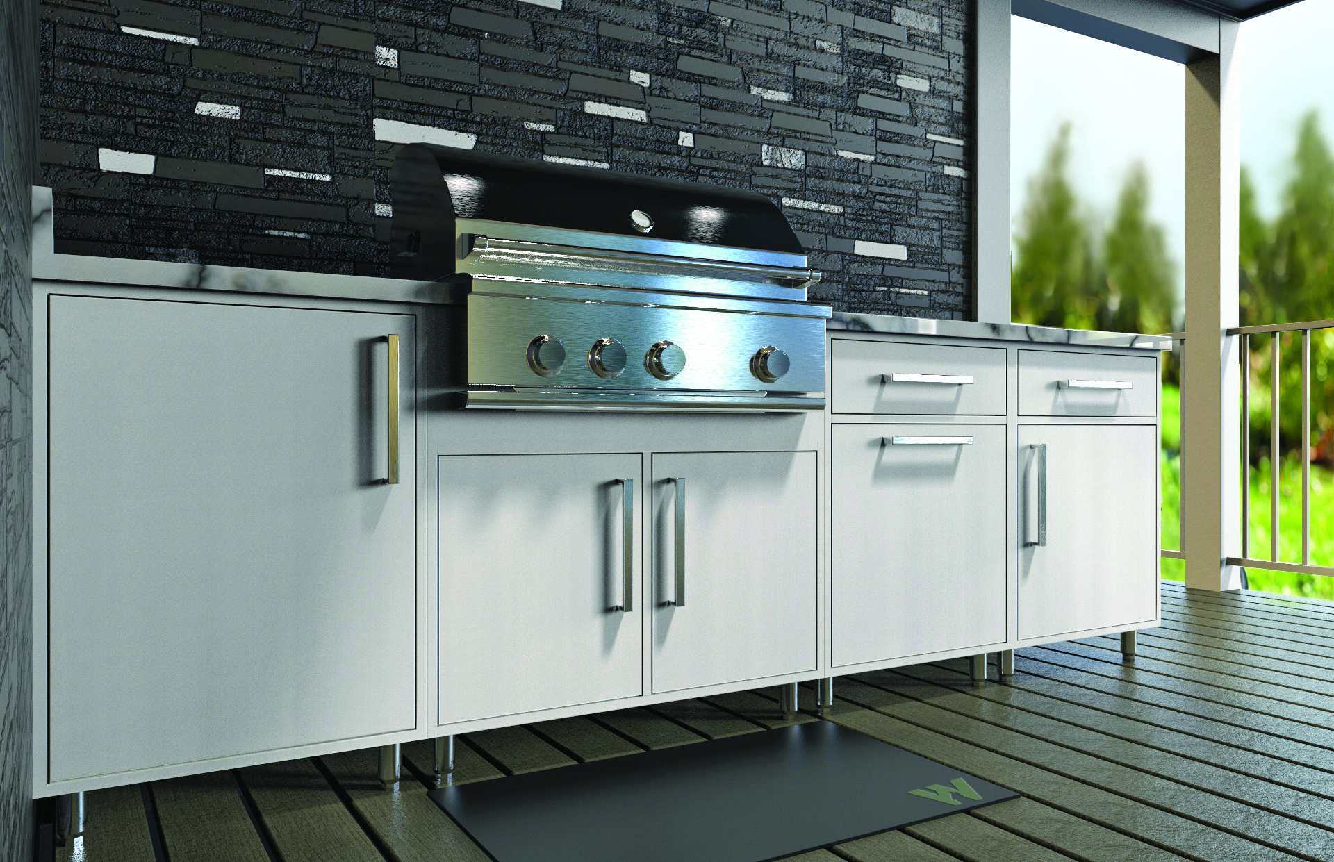 Wolf Home Products Announced The Launch Of Wolf Endurance Outdoor Cabinetry,  A New Durable, Lightweight Product That Will Be Available Immediately In  All Of ...